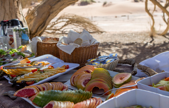Sossusvlei Breakfast buffet