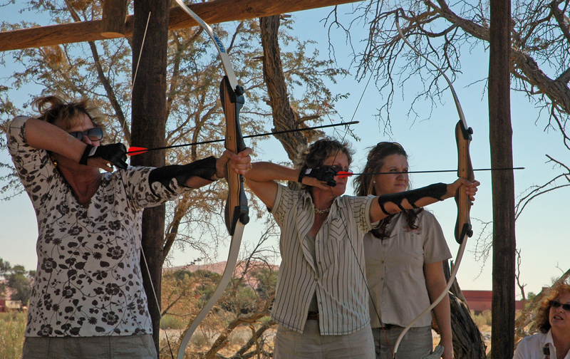 Sossusvlei Lodge Adventure - Archery