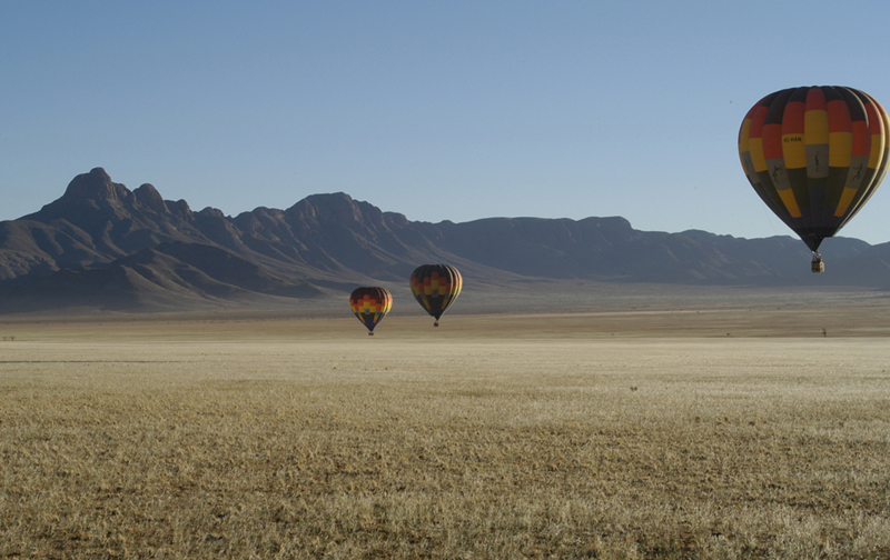 Sossusvlei Lodge Adventure - Hot Air Ballooning