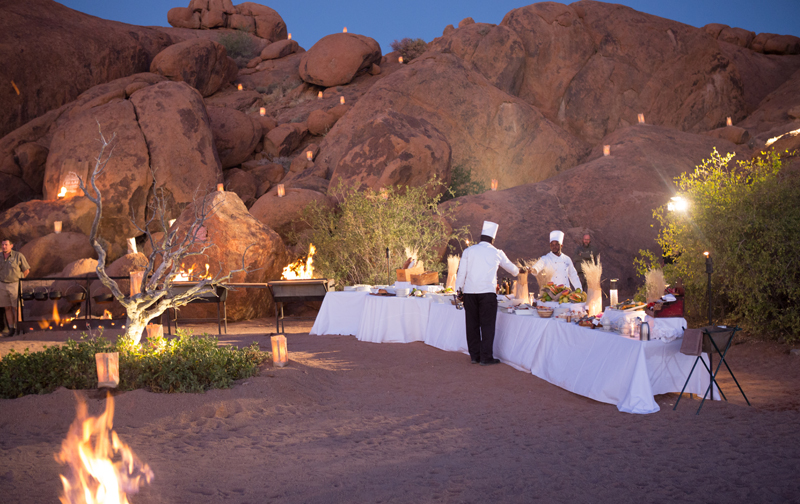 Sossusvlei Lodge Adventure - Bush Dinner