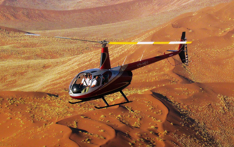 Sossusvlei Lodge Adventure - Helicopter flights