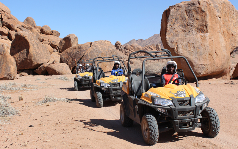 Sossusvlei Lodge Adventure - Quad Buggy Nature Drives