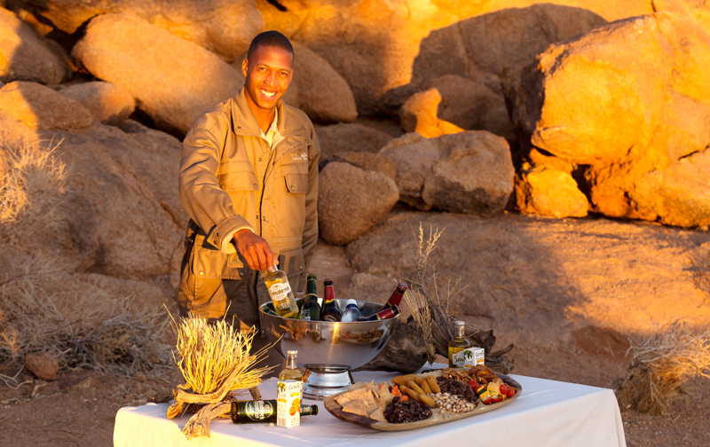 Sossusvlei Lodge Adventure - Sundowner Setup