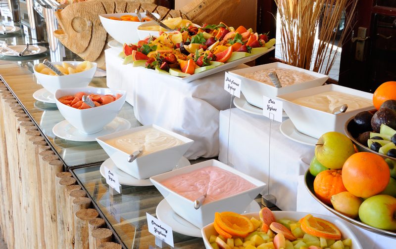 Breakfast Buffet variety