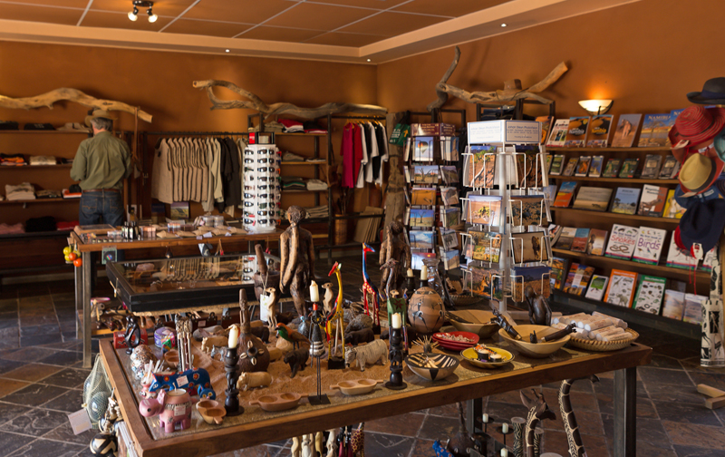 Sossusvlei Lodge Curio Shop