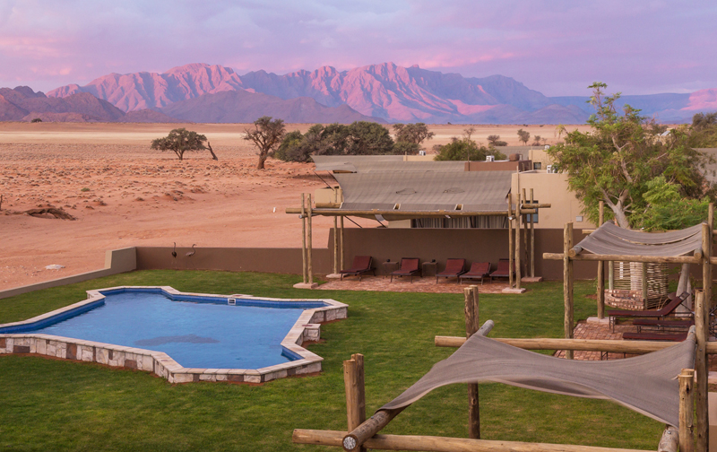 Sossusvlei Lodge Pool Area
