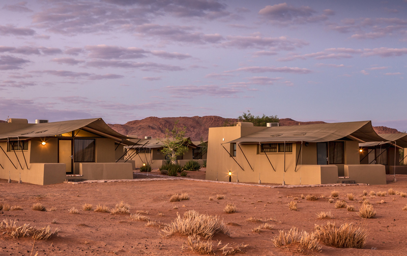 Sossusvlei Lodge - View towards units